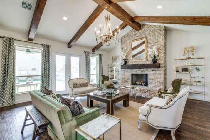good Fireplace with Vaulted Ceiling Ideas