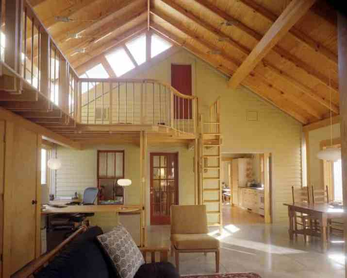 minimalist Cabin Wood Ceiling Ideas