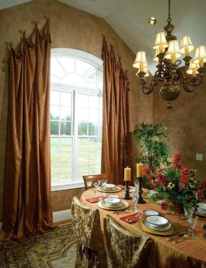 cool Vaulted Ceiling Curtain Ideas