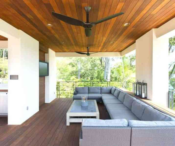 Outdoor Wood Ceiling Ideas  with decoration