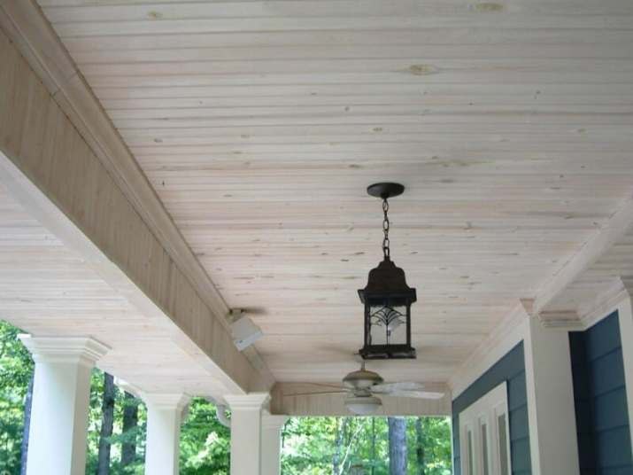 Outdoor Wood Ceiling Ideas for limit space