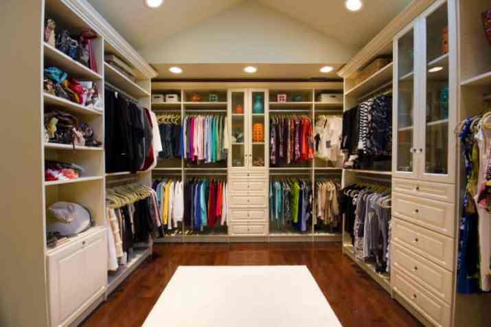cheap Vaulted Ceiling Closet Ideas