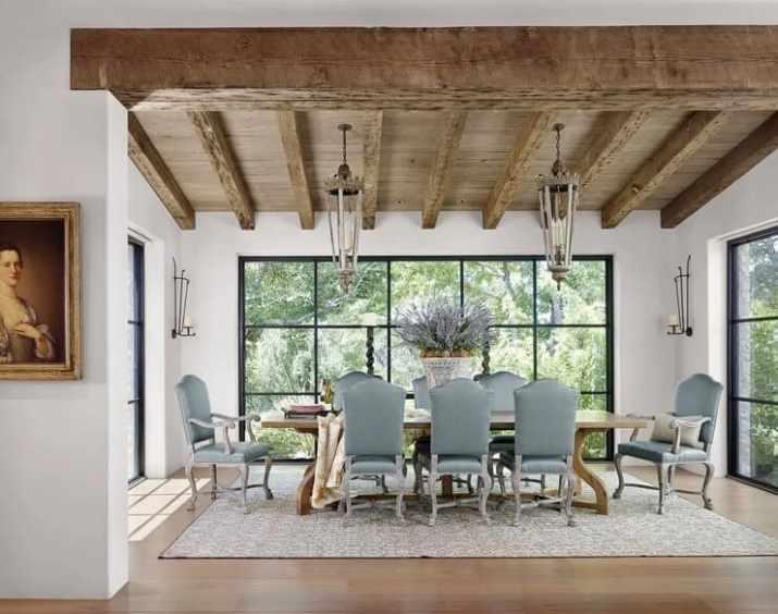 minimalist Rustic Wood Ceiling Paint Ideas
