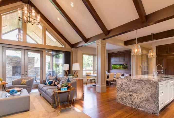 Vaulted Ceiling Lighting Ideas Design for shared room