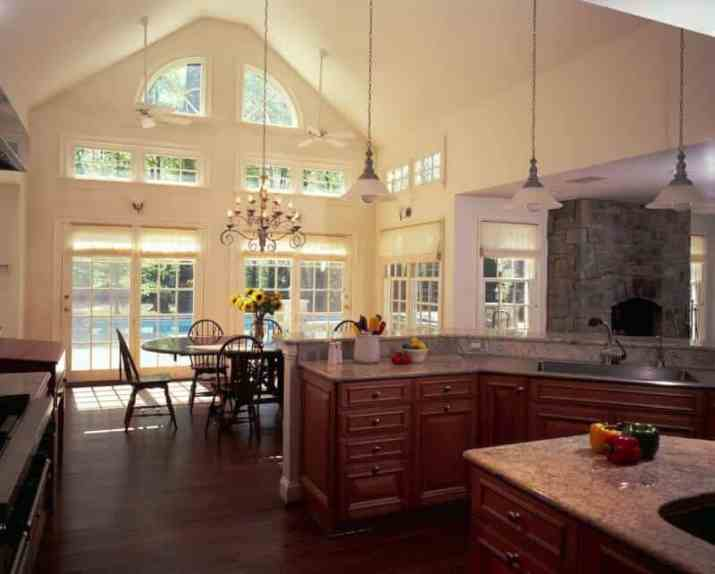 high Vaulted Ceiling Kitchen Ideas