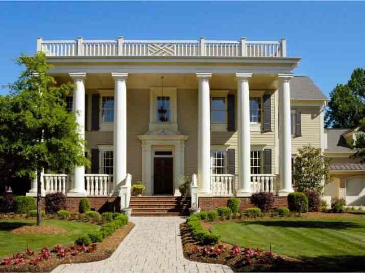 Greek Revival House Style