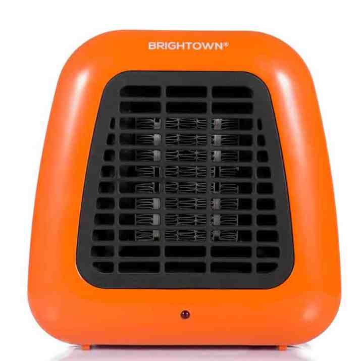 Best Small Heater for Home Brightown 400-Watt Portable-Mini Heater Personal Ceramic Space