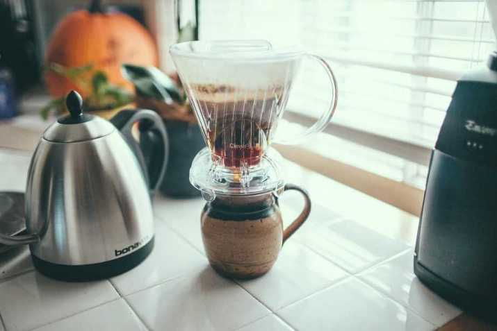 Clever dripper coffee maker