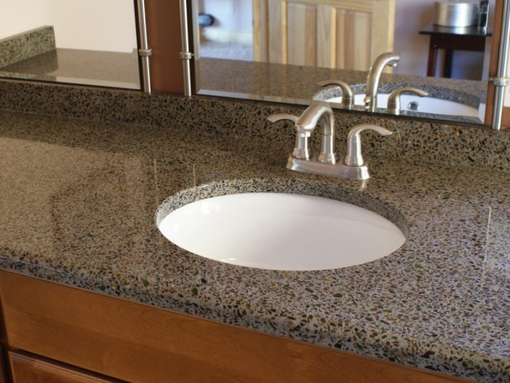 15 Bathroom Countertop Ideas 2020 (and Their Plus Points) 10
