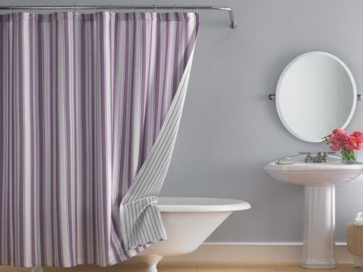 Bathroom Curtain Ideas to Live up Your Private Room 3