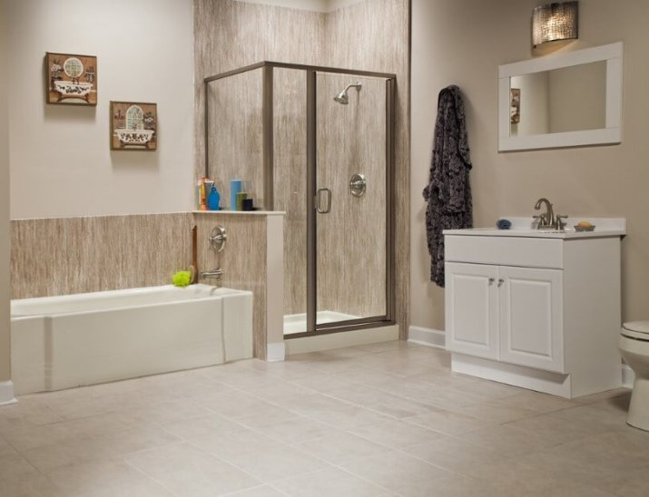 65 Basement Bathroom Ideas 2019 (That You Will Love) 12