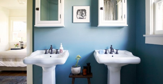 Blue Bathroom Ideas 35