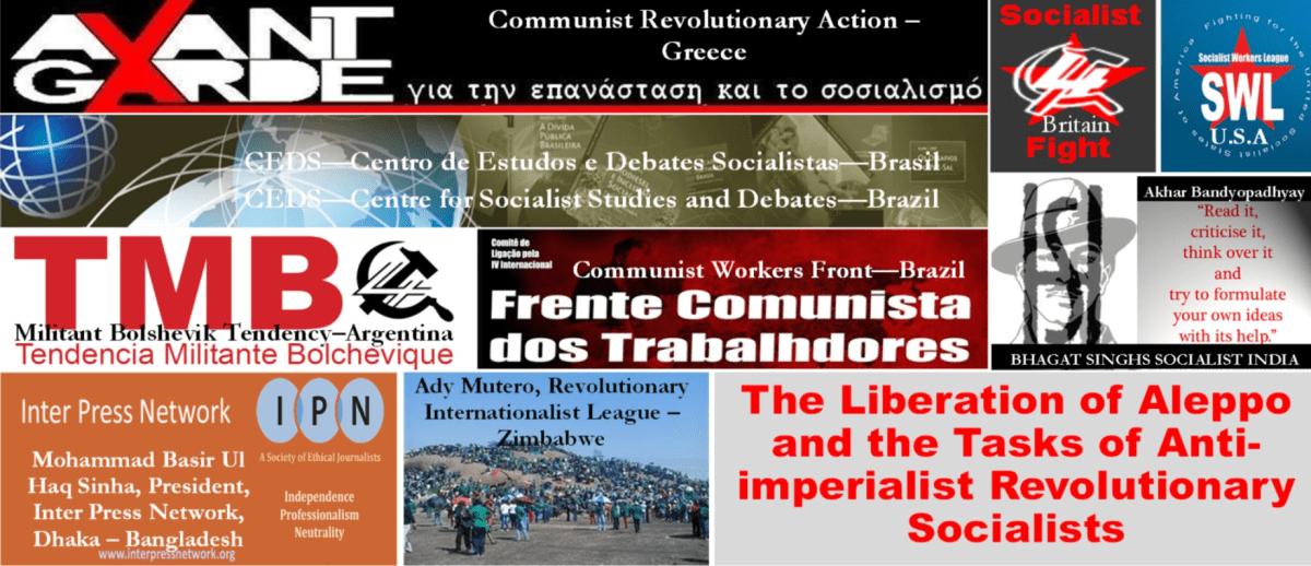 ¡Defender a Siria y a Corea del Norte! ¡Por la derrota y expulsión del imperialismo y sus agentes!