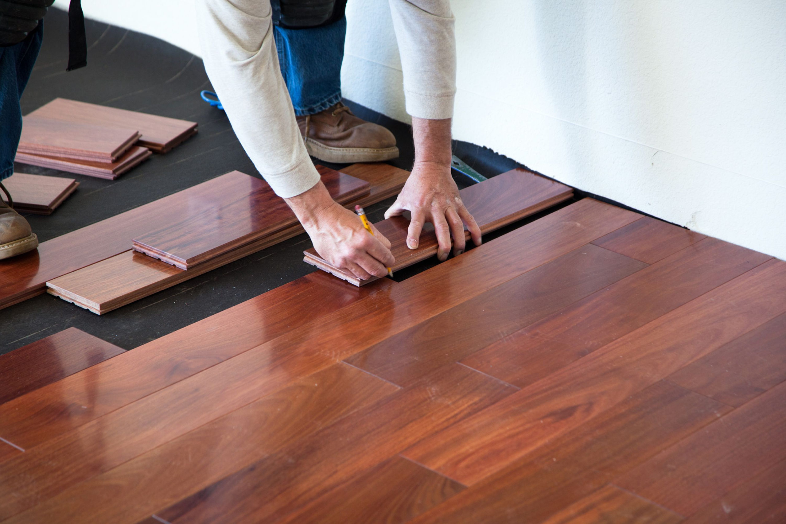 Brazilian hardwood flooring installation Avant Garde Flooring