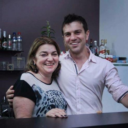 João Biasotto e Mãe