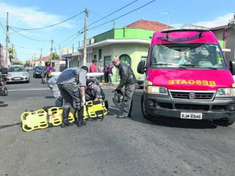 Polícia identifica homem que atropelou idosa e não prestou socorro