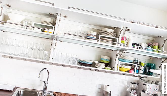 Keittiössä, © avaruusasema