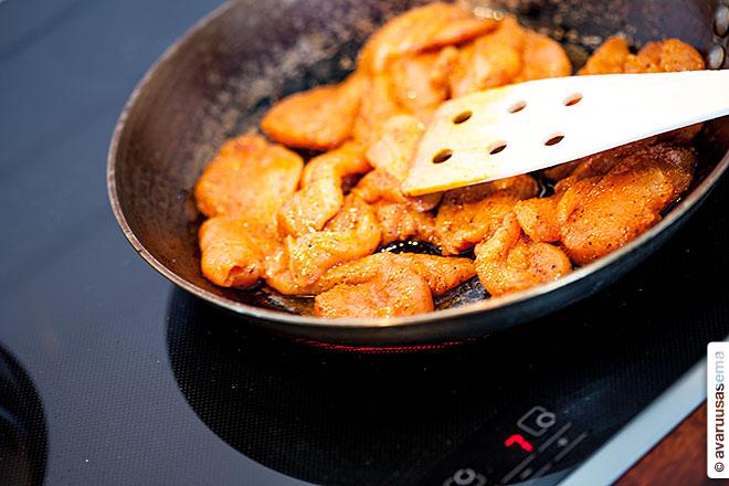 Chicken Fajitas, © avaruusasema