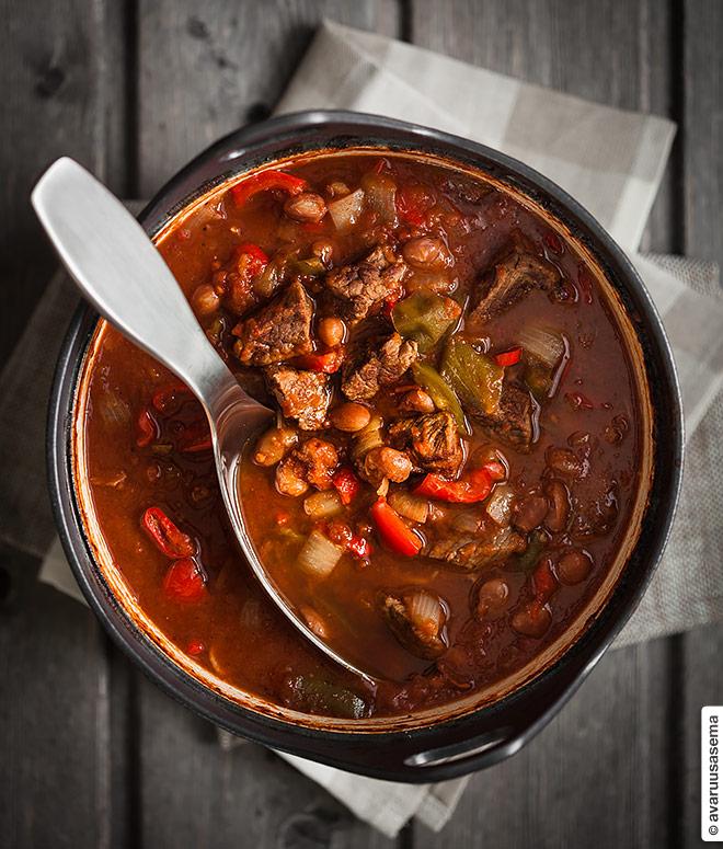 Chili con carne, © avaruusasema