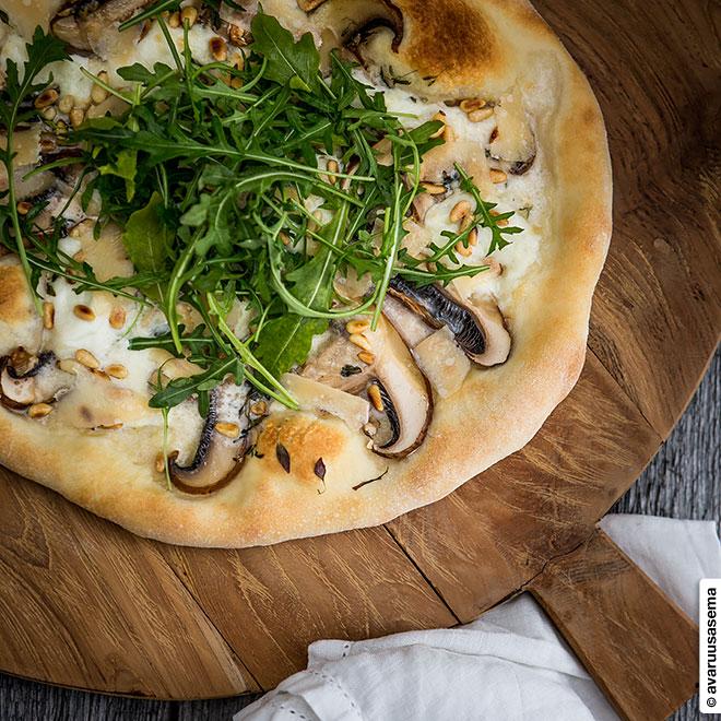 Portobellopizza, © avaruusasema.com