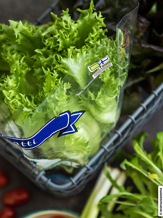 Ranskalainen maalaissalaatti, © avaruusasema.com