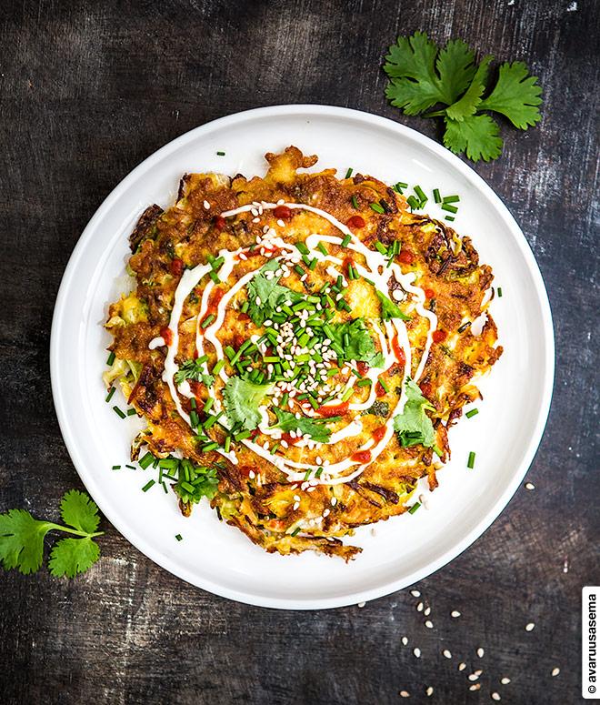 Okinomiyaki, © avaruusasema.com