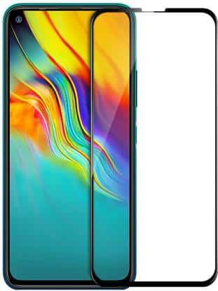 Mi Redmi K30, Samsung Galaxy A80, Mi REDMI NOTE 9 PRO, Mi Redmi Note 9 Pro Max, Infinix Hot 9, Infinix Hot 9 Pro, Realme 6 Pro, Realme X3, Realme X3 Superzoom, Realme 7i, Edge To Edge Tempered Glass Guard - Premium Tempered Glass