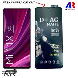 D+ AG Matte Tempered Glass for Xiaomi Mi 11X, Xiaomi Mi 11X Pro || Premium high quality D+ AG Matte Gaming Tempered Glass Edge to Edge Screen Guard Protector D+ AG Matte for Xiaomi Mi 11X, Xiaomi Mi 11X Pro ( BORN FOR GAMER)