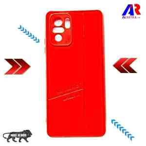 Redmi Note 10 / Note 10S Leather Back Cover Red Colour For Xiaomi - Buy Redmi Note 10 / Note 10S Back Cover Smoke Cover and Cases Online India - Premium High Quality Smoke Back Cover by Avaryka.com