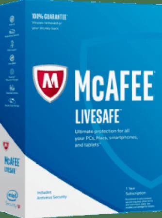 McAfee LiveSafe Crack 2019 + Working Keys Free Download