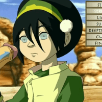 It's playtime for cumhungry Toph!