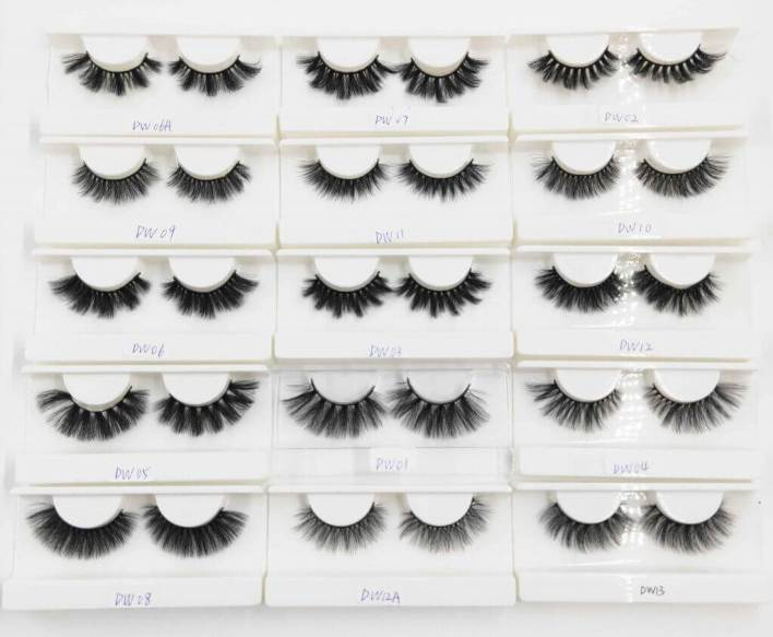 A wide variety of eyelash styles can help you grow your eyelash business