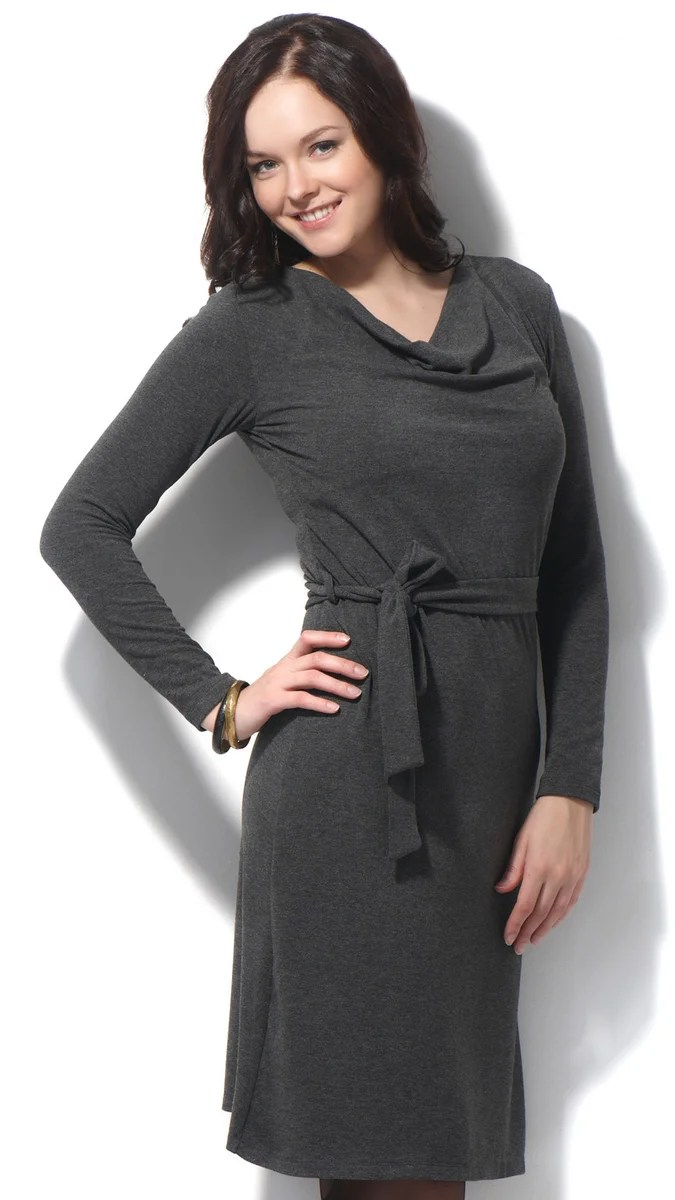 Stock Foto Stitched dresses straight with swing collar