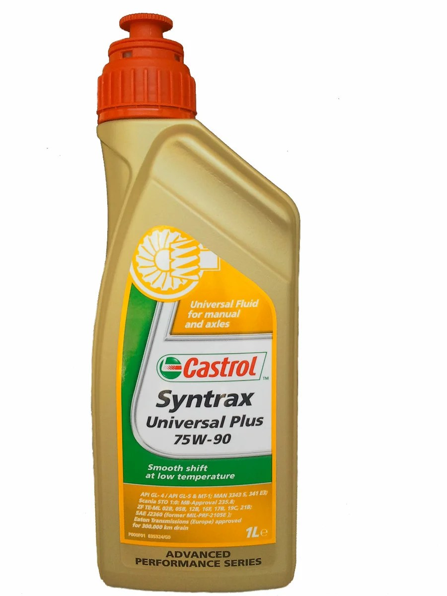 Huile de transmission universelle Castrol Syntrax Universal Plus