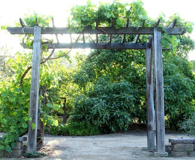 4. The depth of the foundation supports should be about 1/4 of the height of the pergola