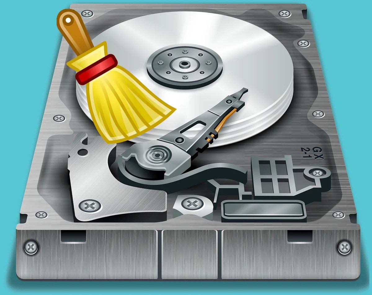 How to free the place on the disk from: \ (delete everything too much)