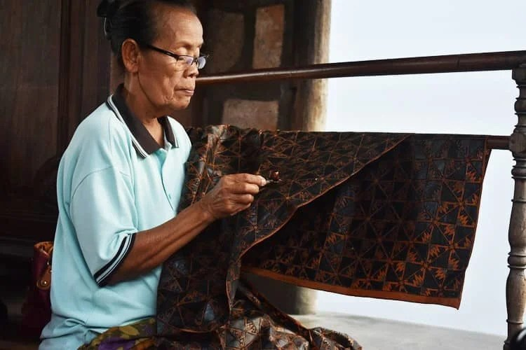 Batik is widespread throughout Asia