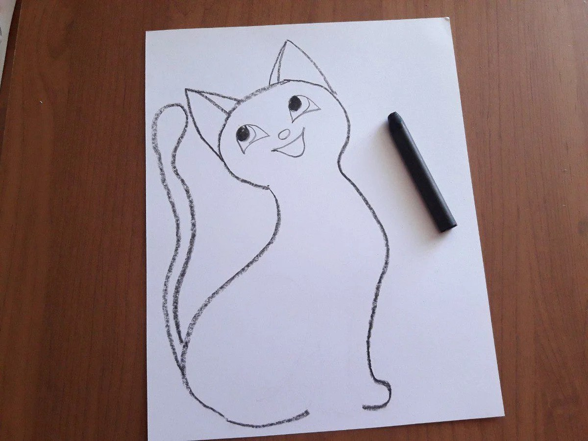 Dessine une étape de kitty 7