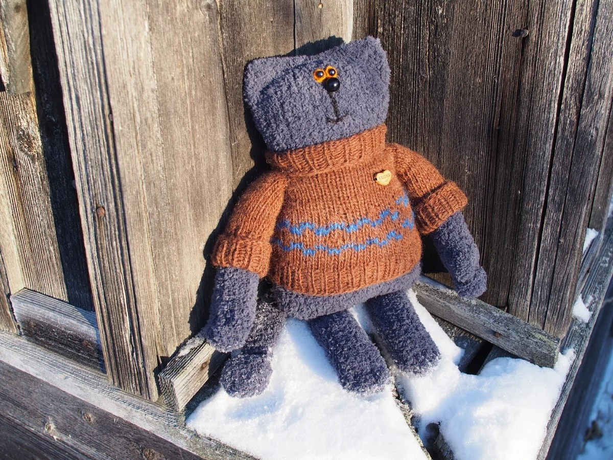 Knit Fluffy Kitty, Foto № 17