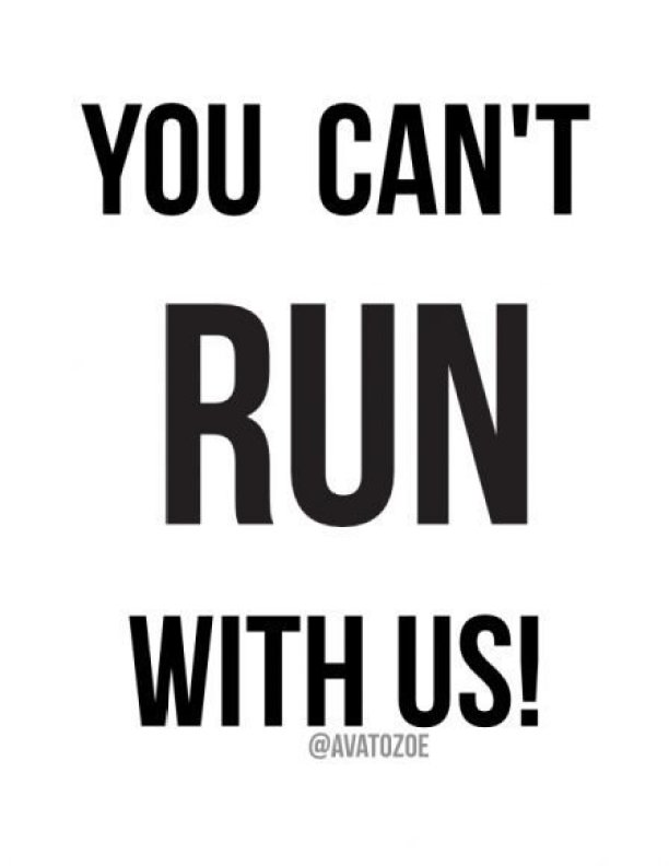 You Can't Run With Us + Free Download 1