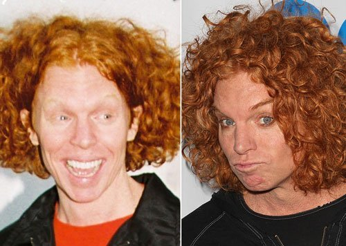 Carrot Top Brows