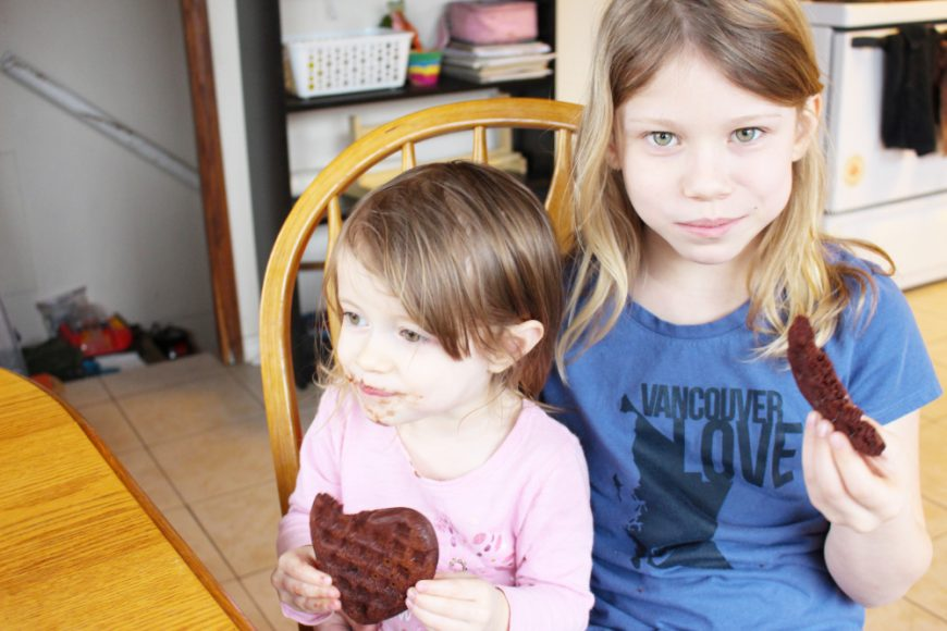 A Chocolate Waffle A Day Keeps The Hangry Children Away Recipe