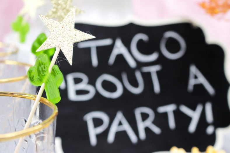 Taco Bout A Party Candy Skewers