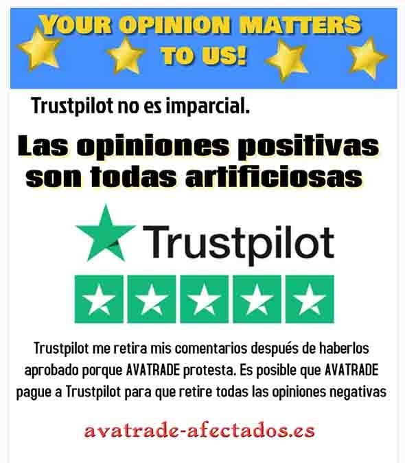 Trustpilot no es imparcial
