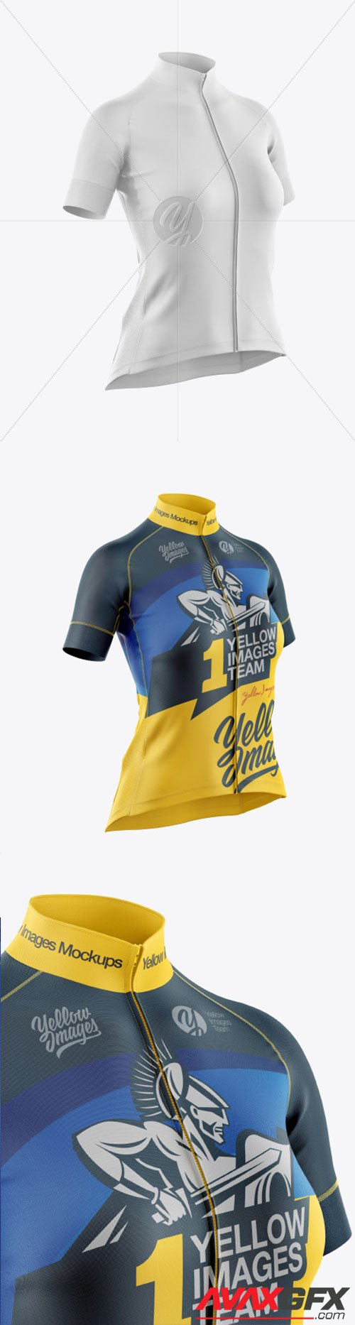 Download Women's Cycling Jersey Mockup 60910 » AVAXGFX - All ...