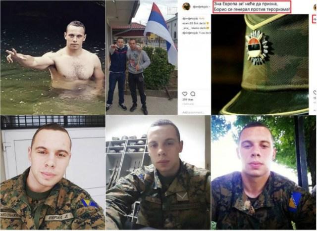Instagram objava vojnika Đorđe Tojčića - Avaz, Dnevni avaz, avaz.ba