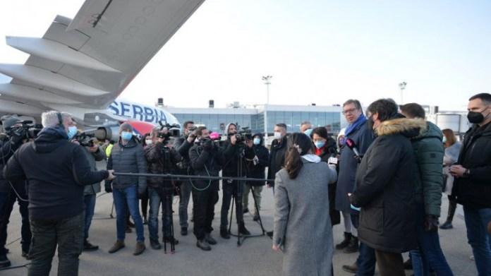 Vučić:  Kineskom vakcinom će biti vakcinisano pola miliona građana
