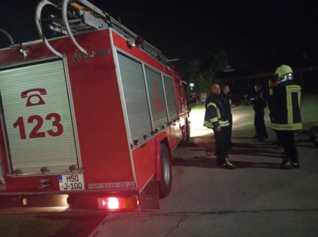 Vatrogasci nakon intervencije