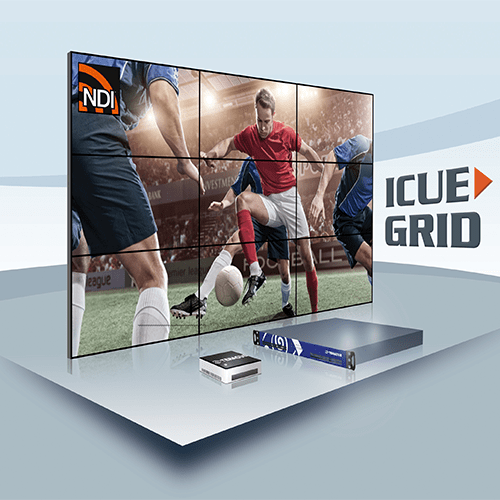 iCUE Grid Video Wall