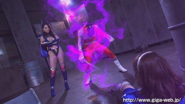 【G1】女剣士ピンクブレードVS女幹部デスクイーン 愛と憎しみの肉人形006